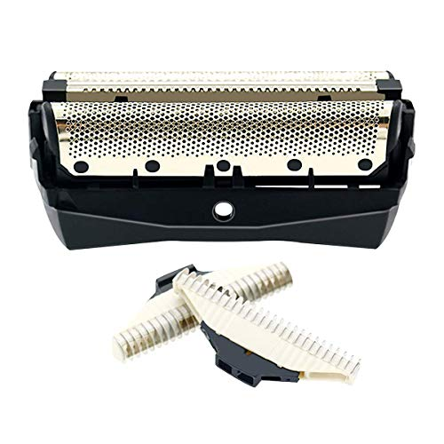 Unit Cutting - Replacement Shaver Foil/Cutter Unit Shaver Head Compatible for Philips QC5550 QC5580 Rotary Blades for mmer Razor accessoriesMen Tri by WuYan
