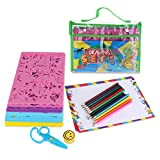 BESTOYARD Drawing Stencils with Assorted Designs Creative Craft Painting Stencils Educational Art Tool Set for Kids Learning Travel Gift