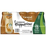 Starbucks Frappuccino, Caramel, 9.5 Ounce Glass Bottles, 15 Count