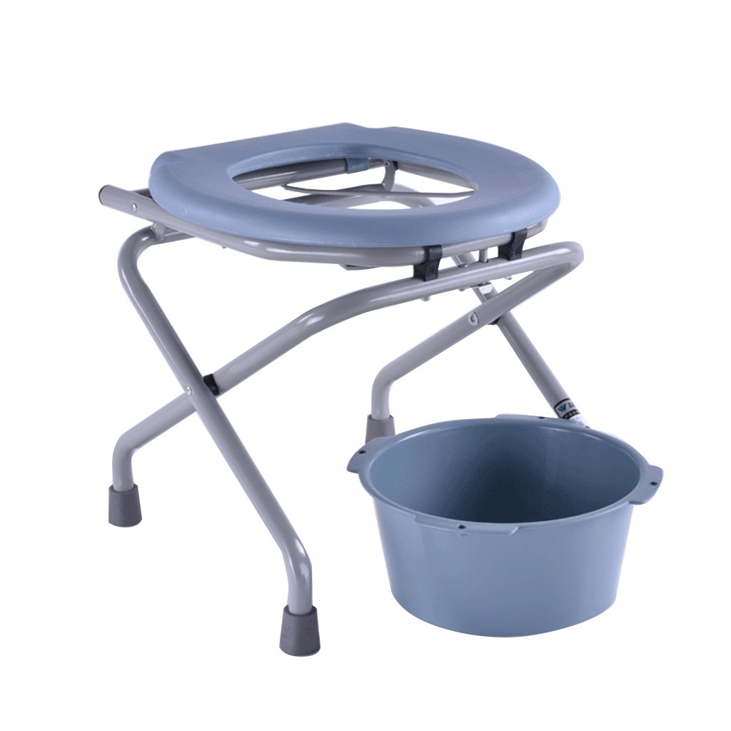 トイレ椅子トイレ椅子トイレ折りたたみトイレスツール (サイズ さいず : A) B07CXP6SPN   A