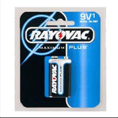 (RAY-O-VAC Maximum Plus Alkaline Battery, 9V by RAY-O-VAC)