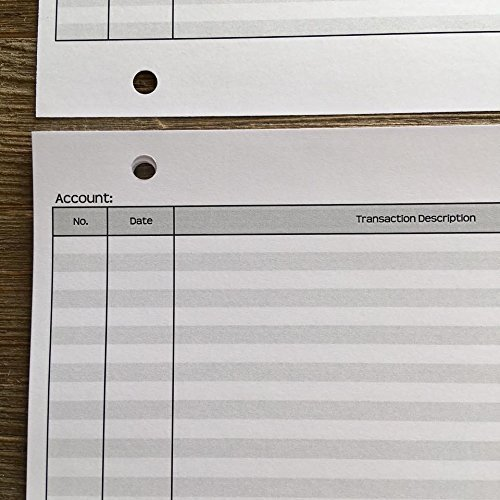 Mini Check Register Pages