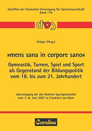 Download Mens Sana In Corpore Sano Gymnastik Turnen
