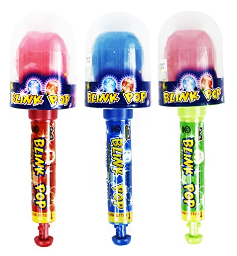 Set of 3 - Assorted Blink Pop Candies! Perfect for Movie Night, Feild Trips, Road Trips and More! (Blink Pop)