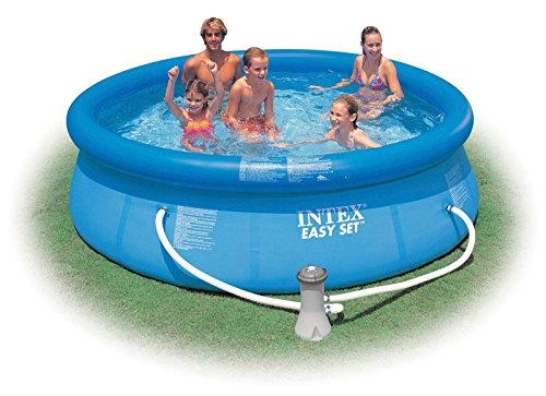 """Intex Easy Set 10' X 30"""" Swimming Pool with Filter Pump & Se"""