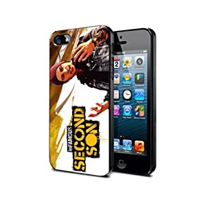 Infamous Second Son Game Case For Samsung Note 4 Silicone Cover Case Nif01