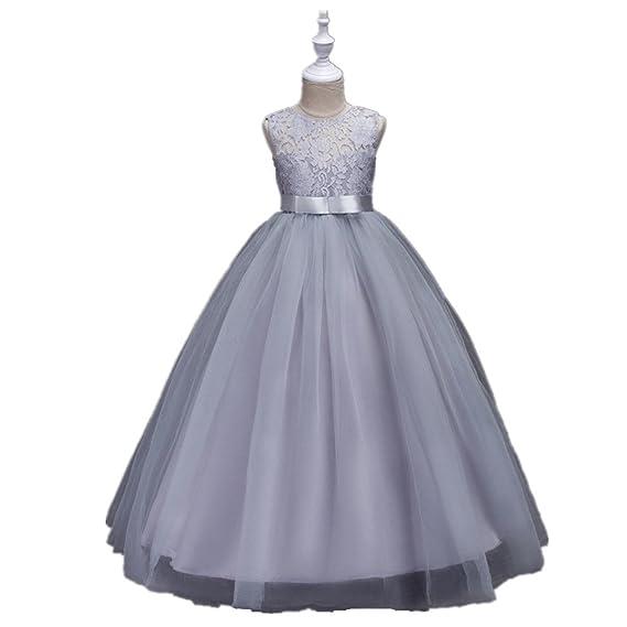 3df500b4111c1 CHD 子供ロングドレス 女の子ドレス ノースリーブ ワンピース レース キッズドレス フォーマルドレス 子供 ジュニア セレモニー