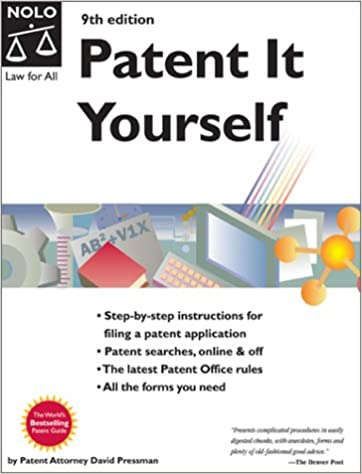 Amazon patent it yourself 9780873378017 david pressman books solutioingenieria Choice Image