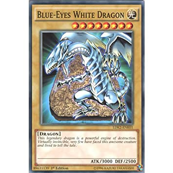 YuGiOh LDK2 ENK01 Limited Ed Blue Eyes White Dragon Alternate Art 2