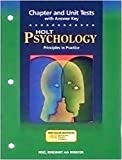 (US) Psychology Principles in Practice Chapter and Unit Tests with Answer Key