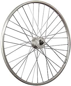 Taylor-Wheels 28 Pulgadas Rueda Delantera Bici YAK19 con Dinamo buje Plateado: Amazon.es: Deportes y aire libre