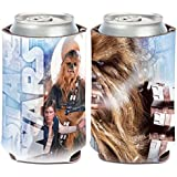 Star Wars Solo/Chewbacca 1-Pack 12 oz. 2-Sided Foldable Neoprene Can Cooler