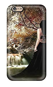 Awesome Women Artistic Abstract Artistic Flip Case With Fashion Design For Iphone 6