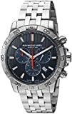 Raymond Weil Men's Tango Quartz Diving Watch with Stainless-Steel Strap, Silver, 20 (Model: 8560-ST2-50001)