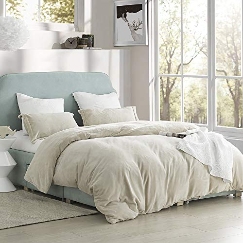 Byourbed Coma Inducer Queen Duvet Cover - The Original Plush - Almond Milk (Cover Almond Duvet)