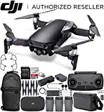 DJI Mavic Air Drone Quadcopter FLY MORE COMBO (Onyx Black) Backpack Starters Bundle