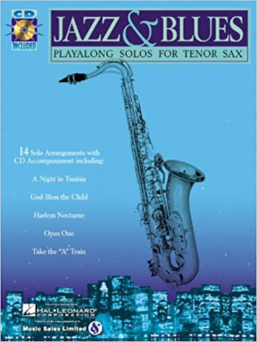 Amazon com: Jazz & Blues - Tenor Saxophone Play-Along Solos