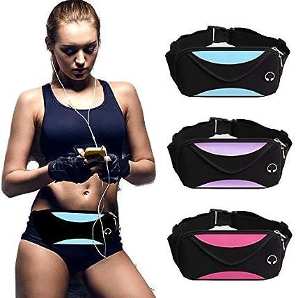 Unisex Men Women Waist Fanny Pack Belt Bag Waterproof Leather Outdoor Sport new