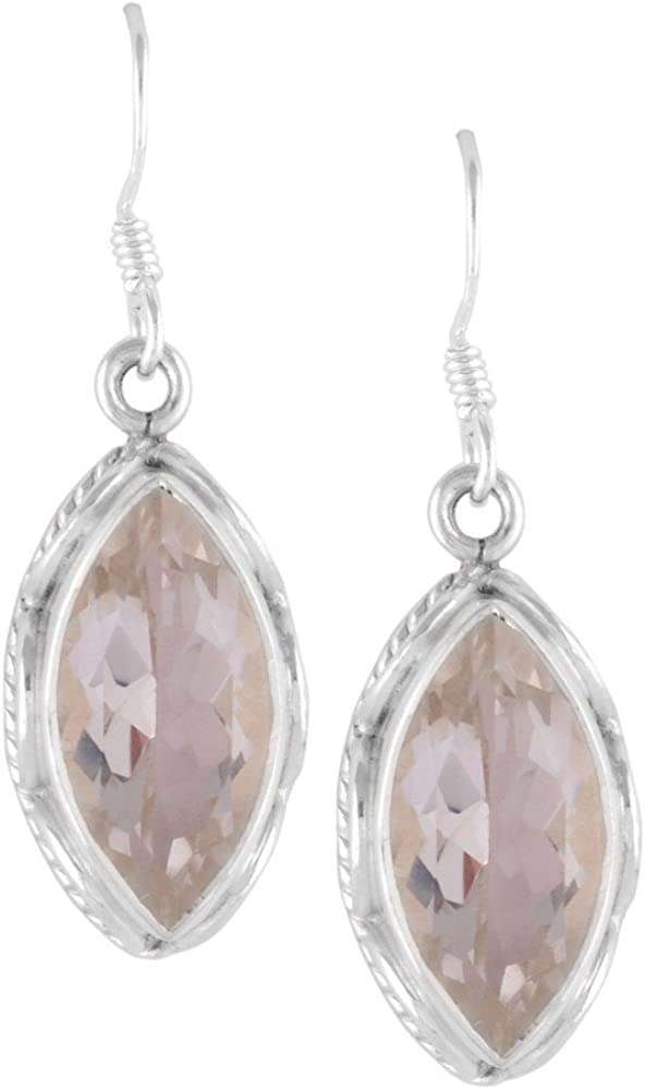 DV Jewels White Crystal Dangle Earring