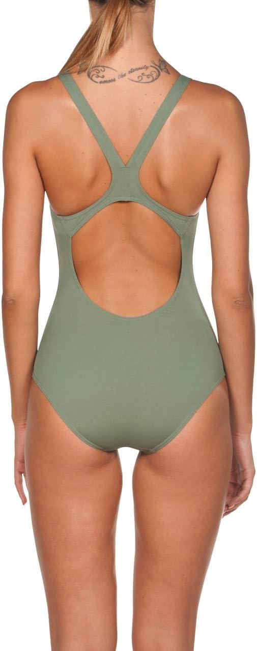 ARENA Damen Badeanzug Sport Solid Swim Pro