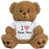 teddy bear that says i love you - Love You Custom Bear Couple Gifts: 8 Inch Teddy Bear Stuffed Animal
