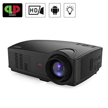 Amazon.com: QUARKJK Powerful LED Projector Full HD Projector ...