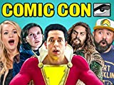 Adults React To Comic Con Trailers (Aquaman, Shazam!, Glass)