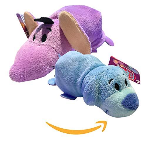 Plush Toy Girls Bonus CUBIX Cube & HOT Seller 5 INCH Flipzee FlipaZoo Indigo Puppy / Tyria Elephant