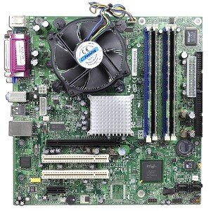 Intel D915GAG Intel 915G Socket 775 micro-ATX Motherboard Kit w/Pentium 4 631 3.0GHz CPU, 1GB DDR RAM, Heat Sink & Fan