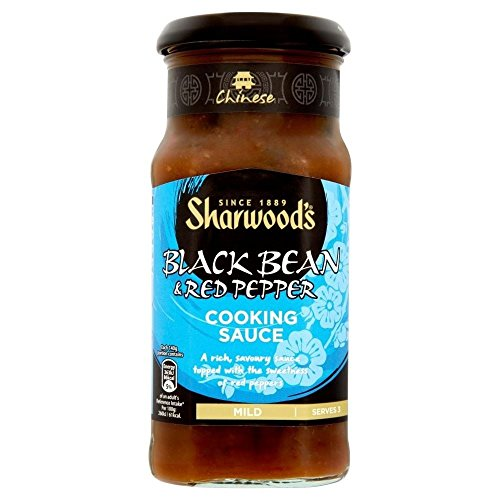 Sharwood Kocht Sauce - Schwarzen Bohnen Und Paprika (425G)
