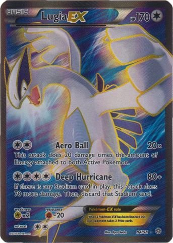 Pokemon - Lugia-EX (94/98) - Ancient Origins - Holo