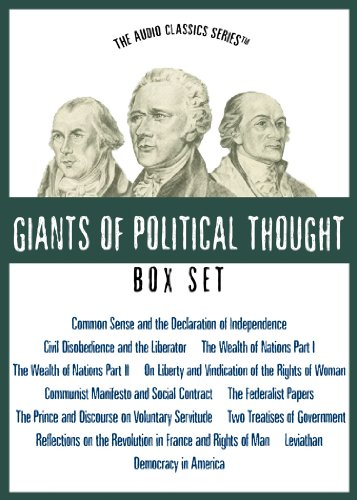Giants of Political Thought Series by Blackstone Audio Inc.