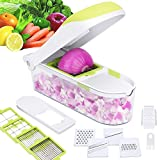 E-Gtong Vegetable Chopper and Food Slicer, Vegetable Slicer with...