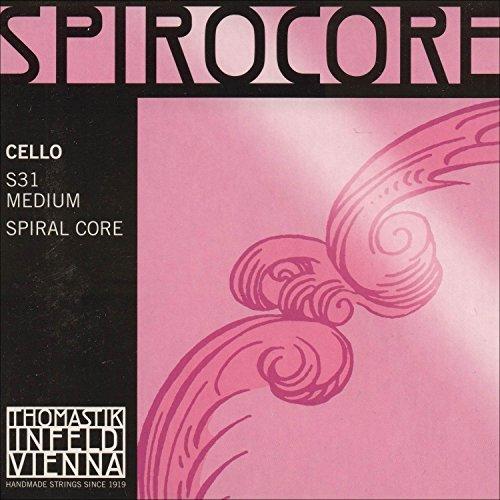 Thomastik-Infeld S31 Spirocore Cello Strings Set 4/4 Size from Dr Thomastik
