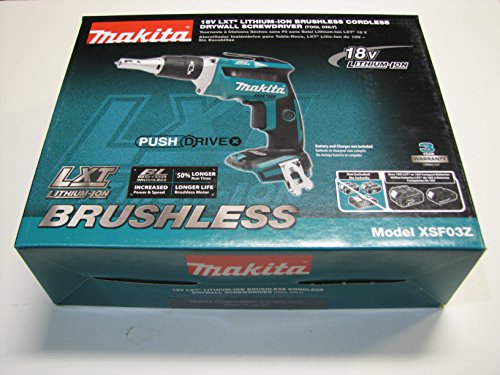 Makita-XSF03Z-18V-LXT-Lithium-Ion-Brushless-Cordless-Drywall-Screwdriver-Bare-Tool-Only