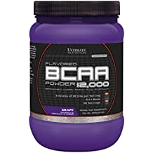 Ultimate Nutrition Flavored BCAA 12,000 Powder (Grape, 228g)