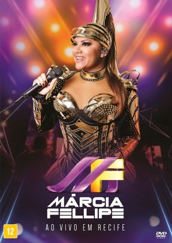 DVD : Marcia Fellipe - Ao Vivo Em Recife (Brazil - Import, NTSC Region 0)
