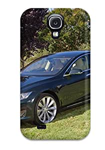 New Premium ZippyDoritEduard Tesla Model S 40 Skin Case Cover Excellent Fitted For Galaxy S4