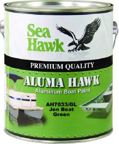 Seahawk Paints Aluma Hawk Jon Boat Green Gl Ah7033 Gl