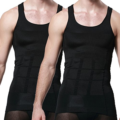 2b258e6cc8501 new Men s Body Shaper Slimming Shirt Tummy Waist Vest Lose Weight Shirt