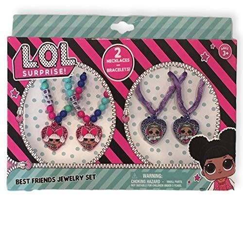 L.O.L. ¡Sorpresa! Juego de collar y pulsera Best Friend - Con L.O.L. Doll Diva & Beats
