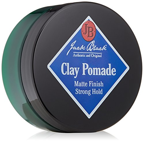[Jack Black Clay Pomade, 2.75 oz.] (Natural Black Clay)