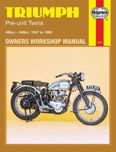 Triumph Pre-Unit Twins, '47-'62 Technical Repair Manual (Haynes Repair Manuals)