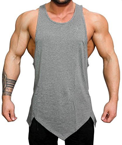 b5094668160de COOFANDY Men s Gym Tank Tops Workout Muscle Tee Training Bodybuilding  Fitness T Shirts