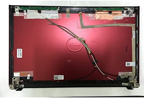 LCD Back Cover with Hinges Laptop Parts For Dell Vostro 3400 14 Lid 0CJ26 THR20 Red