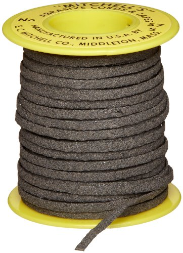 Mitchell Abrasives 57-S Flat Abrasive Tape, Silicon Carbide 150 Grit 1/8'' Wide x 50 Feet by Mitchell Abrasives