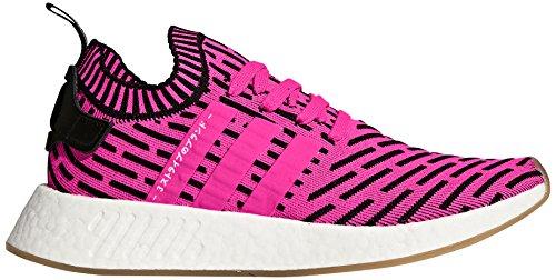 adidas Originals Men's NMD_R2 PK Running Shoe, Shock Pink/Bl