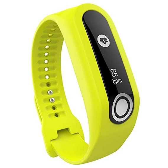 Bestow Reemplazo Smart Watch Correa de Silicona Band Tomtom Cardio Activity Tracker Band Electršnica Gadgets Reloj de Pulsera(Amarillo): Amazon.es: Ropa y ...