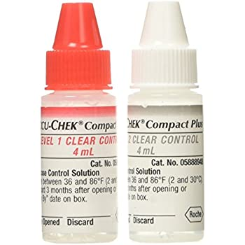 Amazon Com Accu Chek Compact Plus Clear Control Solution