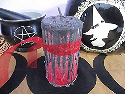 Morrigan Candle ~ Goddess Morrigan Candle ~ Witchcraft Spell Candle ~ Ritual Candle ~ Morrighan Candle ~ Witchcraft Supply ~ Mystics Realm